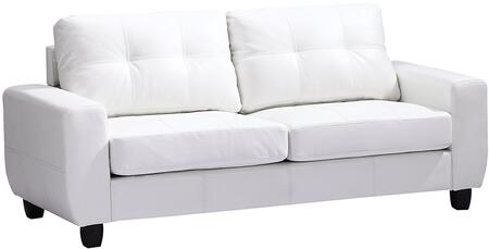 Glory Furniture G207AS  Stationary Bycast Leather Sofa