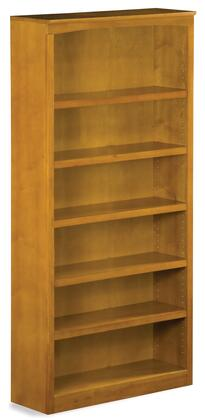 Atlantic Furniture MISSION72BSCLMission Series  Bookcase