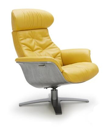 karma lounge chair in mustard by j m furniture 7ad