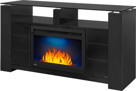 Napoleon NEFP27 Mantel Package Complete with Glass Top and Doors, and Shelves