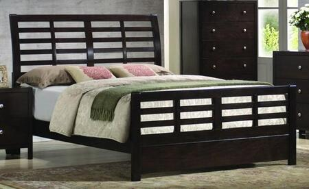 Coaster 200800KE Zoe Series  King Size Platform Bed