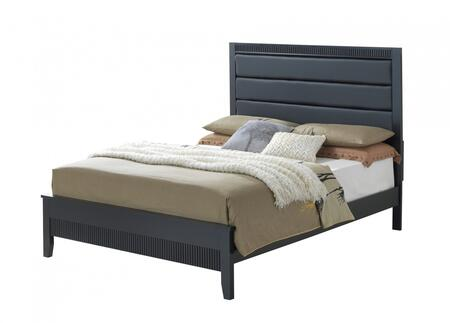 Glory Furniture G5350AFB Portland Series  Full Size Panel Bed