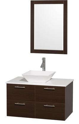 Wyndham Collection WCR410036ESWHD28WH