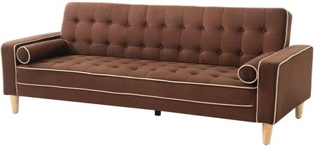 Glory Furniture G842S  Convertible Suede Sofa