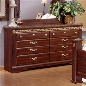 Sandberg 17406 Renaissance Series MDF Dresser
