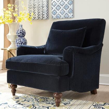 Donny Osmond Home 902899 Accent Seating Series Armchair Fabric Wood Frame Accent Chair