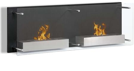 Moda Flame GF101301 Wall Mountable Bioethanol Fireplace