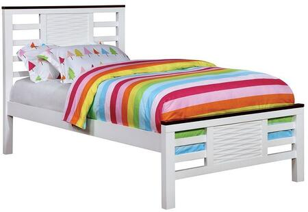 Furniture of America CM7191TBED Meredith Series  Twin Size Bed