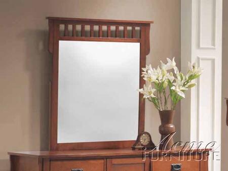 Acme Furniture 06194A Ridgeville Series Rectangular Portrait Dresser Mirror
