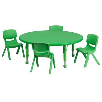 Flash Furniture YUYCX00532ROUNDTBLGREENEGG