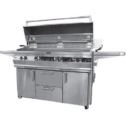 FireMagic E1060S2L1N62 Freestanding Natural Gas Grill