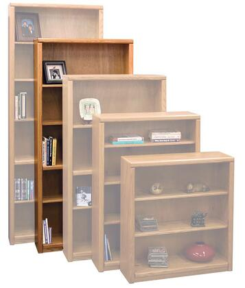 Legends Furniture CC6672LTO Contemporary Series Wood 4 Shelves Bookcase