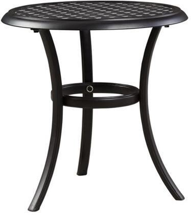 "Milo Italia OD587277 21"" Contemporary Side Table"