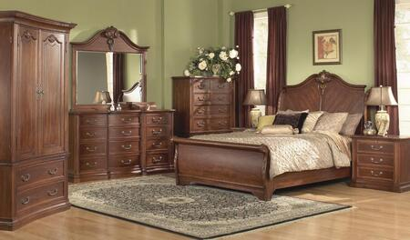 Accent HA848502BED4SET Wyndham Queen Bedroom Sets