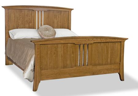 Durham 100124C Westwood Series  Queen Size Panel Bed