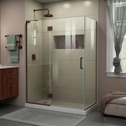 DreamLine Unidoor X Shower Enclosure 24HP 30D 30RP 06