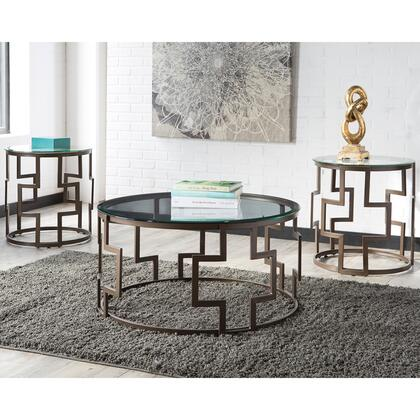 Flash Furniture FSDTS310DBGG Contemporary Living Room Table Set