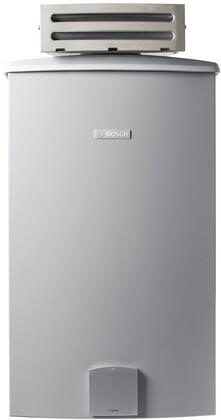 "Bosch Therm 940ES 18"" X Gas X Tankless Water Heater With 199,000 BTU Max Input, Energy Star Rated, Electronic Ignition, 150 PSI Max Water Pressure, Non-Condensing, In Grey"