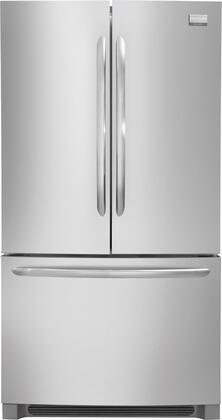 Frigidaire FGUN2642LF Gallery Series  French Door Refrigerator with 25.8 cu. ft. Total Capacity 4 Glass Shelves |Appliances Connection