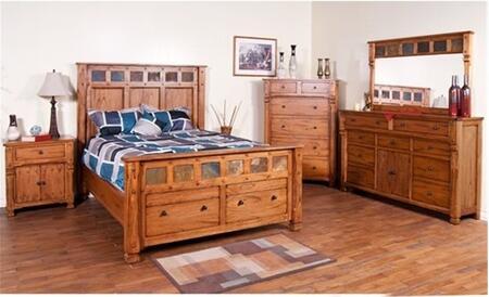Sunny Designs 2322ROKBDMNC Sedona King Bedroom Sets