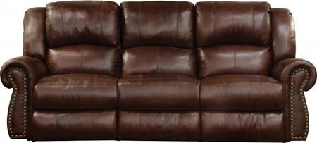 Catnapper 764221128319308319 Messina Series  Leather Sofa