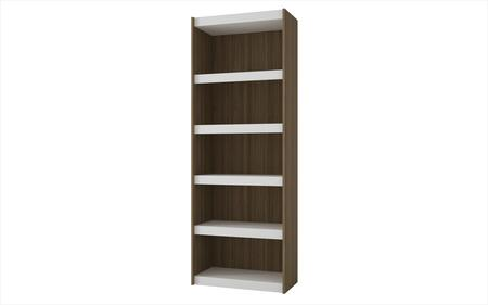 "Accentuations Parana 3.0 Collection 32AMCXX 72"" Bookcase with 5 Shelves and High Quality MDP in"