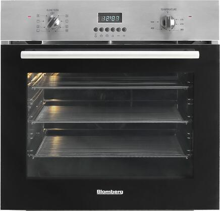 "Blomberg BWOS24200 24"" Single Wall Oven, in Black"