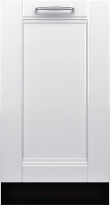 """Bosch SPx68U5xUC 18"""" 800 Series Dishwasher with 10 Place Settings, Fully Integrated Control Panel, 44 dBA Quiet Operation, Stainless Steel Euro Tub and AquaStop Plus Protection:"""