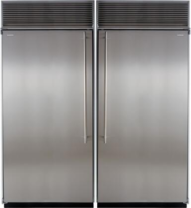 Marvel 707917 Side-By-Side Refrigerators