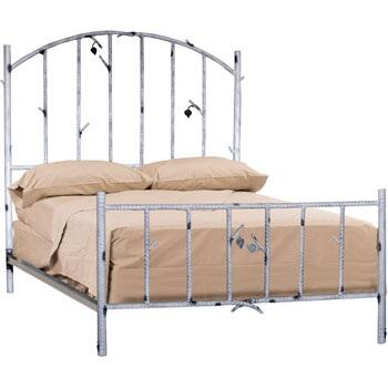 Stone County Ironworks 958063  King Size HB & Frame Bed