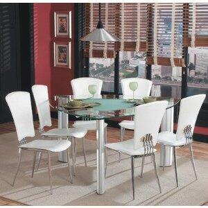 Chintaly TRACY575757SETWHT Tracy Dining Room Sets