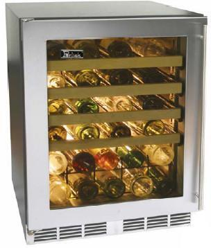 "Perlick HC24WB4LDontUse 23.875"" Built-In Wine Cooler, in Panel Ready"