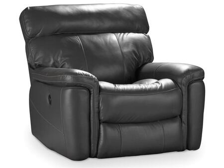 Living Room Gray Power Recliner