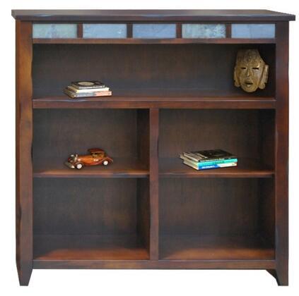 Legends Furniture FC6301DNCFire Creek Series Wood 2 Shelves Bookcase
