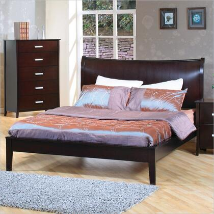 Coaster 200300Q Stuart Series  Queen Size Platform Bed