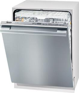 Miele G5285SC Futura Crystal Series Dishwasher with 46 dBa Sound Rating, 6 Wash Programs, Cutlery Tray, 16 Place Settings, Built-In Water Softener and Hidden Control Panel: