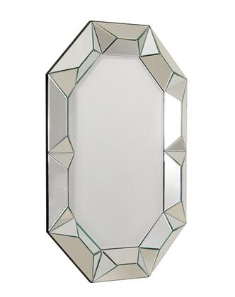 VIG Furniture VGWCTEM8ZJ002 Temptation Ariel Series Rectangular Portrait Wall Mirror