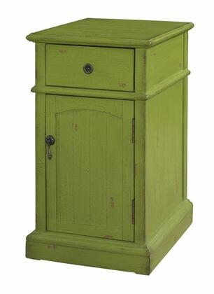 Powell 333219 Freestanding Wood 1 Drawers Cabinet