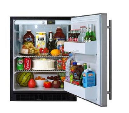 Marvel 6ADAMWWOR  Built In Counter Depth Compact Refrigerator with 5.4 cu. ft. Capacity, 3 Wire Shelves