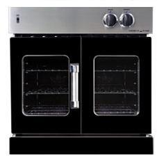 American Range AROFG30LPBK Single Wall Oven, in Black