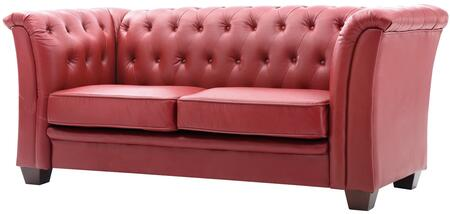 Glory Furniture G329S  Stationary Faux Leather Sofa