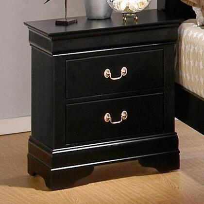 Coaster 201072 Louis Philippe Series  Wood Night Stand