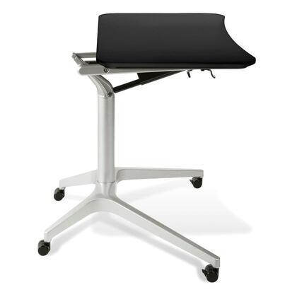 Unique Furniture 201BLK Contemporary Standard Office Desk