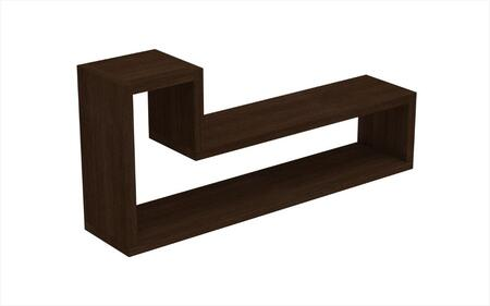 Accentuations 45AMC Accentuations by Manhattan Comfort Barabs Tetris L Shaped Floating Wall Mount