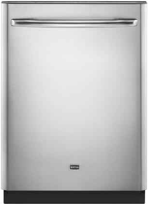 "Maytag MDB8959SBS 24"" JetClean Plus Series Built-In Fully Integrated Dishwasher"