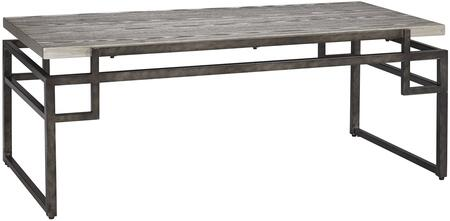 Signature Design by Ashley T3321 Silver Contemporary Table