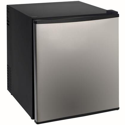 """Avanti SHP1702SS 17"""" Freestanding Compact Refrigerator with 1.7 cu. ft. Capacity, 1 Wire ShelfField Reversible Doors"""