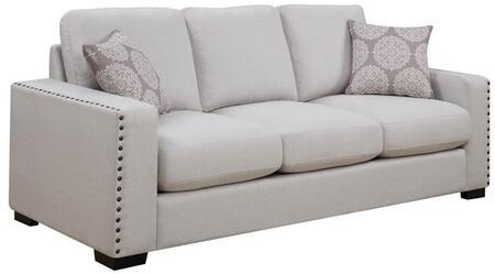 Donny Osmond Home 508044 Rosanna Series Stationary Fabric Sofa