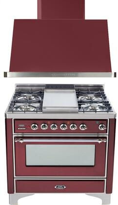 Ilve 720123 Majestic Kitchen Appliance Packages