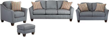 Milo Italia MI2785SLCOLAGO Victoria Living Room Sets